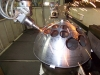 Laserschneiden einer Halbkugel