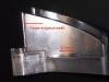 lange Kante aufgeschweißt - Verfahren: Verzugsfreies Reparaturschweißen mit dem Laser im Formenbau