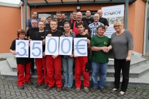 20 Jahre Laserzentrum Schorcht GmbH - Spende an den Tiergarten Eisenberg