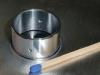 Lasergeschweißtes Rohrstück aus Aluminium