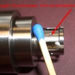 Laserschweißen von Kugeln - Durchmesser 1mm, als Abstandhalter höchster Qualität in Sensoren